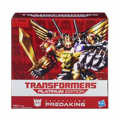 Transformers Platinum Edition Predaking