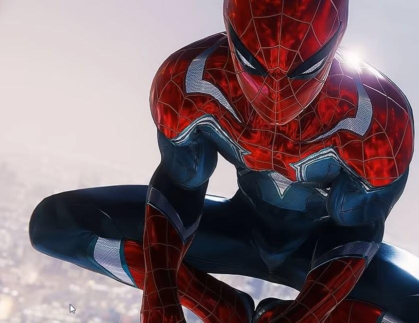 Comic Origins Spider-Man PS4 Suits Comic book origins Spider