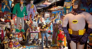 Largest Batman Collection of Memorabilia - Guinness World Records