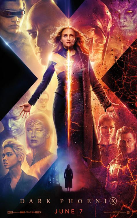 X-Men Dark Phoenix Movie Posters - 9 x Official Artwork - epicheroes edit - Storm,Cyclops,Magneto