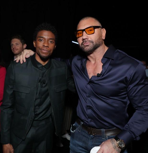 Celebrity Backstage Pics