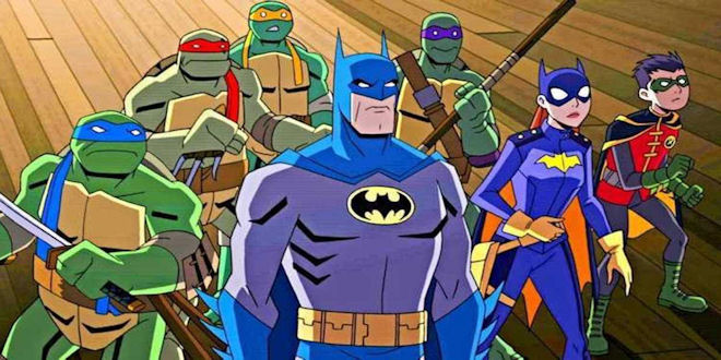 Batman Animated Ninja Turtles