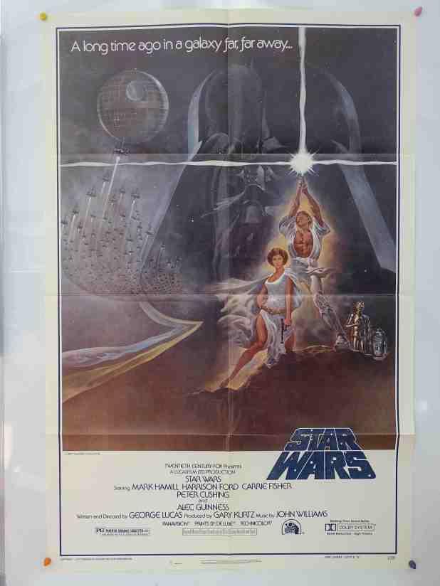 Star Wars Movie Original poster