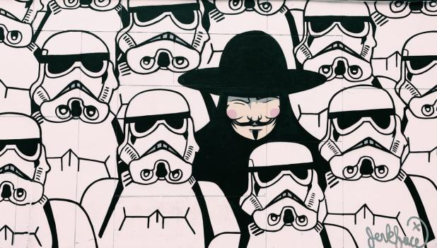 Guy Fawkes StormTroopers The Netflix or Hulu of Comics