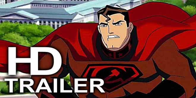 Superman Red Son - Animated Movie Official Trailer (2020) - DC Elseworlds