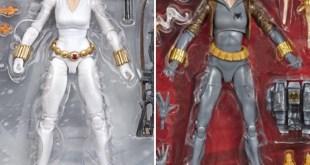 Exclusive Marvel Legends Black Widow Grey & White Costume Comic Figures!