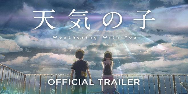 Weathering With You - Trailer Award Winning Romantic Manga Movie - Makoto Shinkai