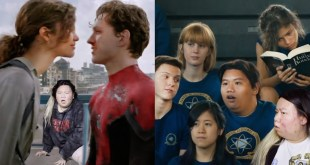 my experience in the mcu spider-man movies as one of the highschool students