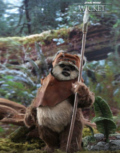 Star Wars Wicket - 1/6 Action Figure By Hot Toys