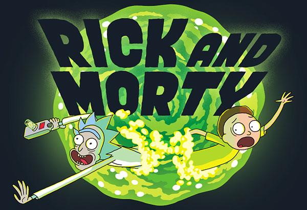 Animated Videos Rick & Morty + Linkinpark via @epicheroesuk Instagram