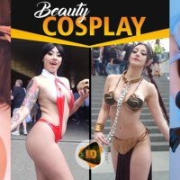 Beauty and Sexy Cosplay Girls