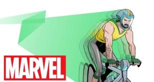 Give Bike Man a Chance! | Marvel Make Me a Hero