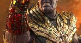 Hot Toys Battle Damaged Thanos Figure & Nano Gauntlet Up for Order!