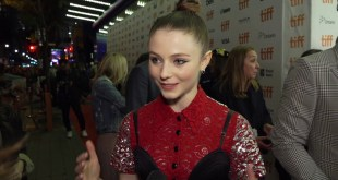 Jojo Rabbit Movie - World Premire at Tiff  - Celebrity Interview w / Thomasin McKenzie