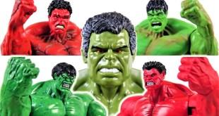 MARVEL HULK COLLECTION~ HULK SMASH Avengers Thor Thunder and Lightning Makes Hulk Bigger-Charles toy