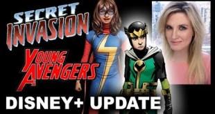 MCU Disney Plus - Secret Invasion, Young Avengers, Kid Loki, Ms Marvel a Skrull?