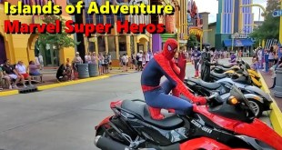 Marvel Super Heros at Islands of Adventure - Universal Studios Orlando