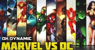 Marvel Vs DC : The Overall Comparison | HINDI | Pt. 2 | DK DYNAMIC