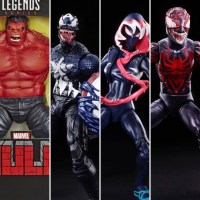 Toy Fair: Marvel Legends Venomized Series & Red Hulk Exclusive Figure Revealed!
