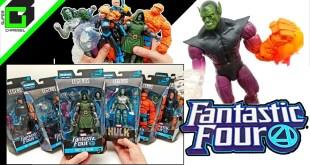 UNBOXING Marvel Legends FANTASTIC 4 Super Skrull Build a Figure (Complete Set)