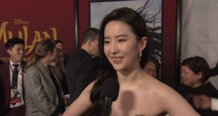 Disney Pictures Mulan 2020 Movie - Celebrity News - Hollywood World Premiere w/ Yifei Liu