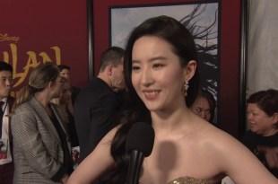 Disney Pictures Mulan 2020 Movie - Celebrity News - Hollywood World Premiere w/ Yifei Liu