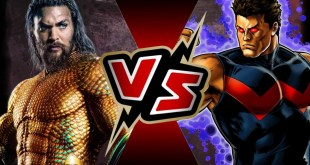 Aquaman VS Wonder Man | BATTLE ARENA