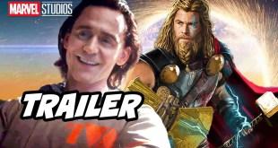 Avengers Loki Trailer - Thor 4 Marvel Phase 4 Easter Eggs Breakdown