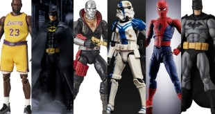 BATMAN GALORE! G.I.Joe, MAFEX, SHF Spider-Man, McFarlane, Super7 TMNT and more! |