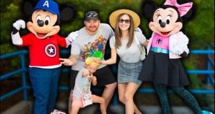 Disney Characters Were Dressed As Marvel Heroes!?   Disneyland Meet & Greets