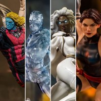 Iron Studios Iceman Storm Psylocke & Archangel X-Men Statues Up for Order!