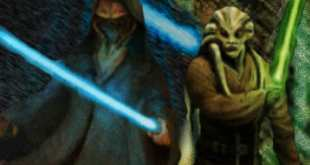 Kit Fisto and Plo Koon . . Final Version Of The Koon/Fisto Artwork . ....