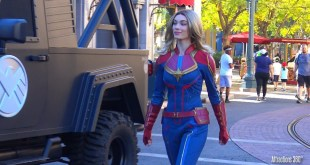 NEW! Captain Marvel Character at Disneyland Resort