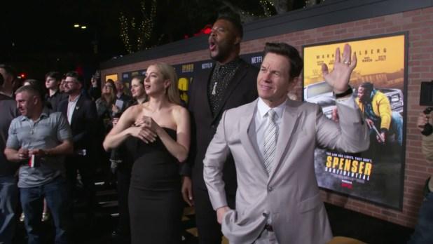 Netflix Movie La Premiere Spenser Confidential W Mark Wahlberg Celebrity Red Carpet Event Epicheroes Movie Trailers Toys Tv Video Games News Art