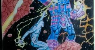 Silver Surfer vs Galactus                             ...