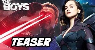 The Boys Season 2 Teaser Trailer - Stormfront vs Homelander and Marvel Easter Eggs