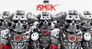 The Toy Chronicle | A.M.O.K First Version by Brackmetal Gerald Leung x Pla-man Hobby