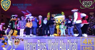 360 Video  | Warner bros. World Abu Dhabi | meet warner bros cartoons characters