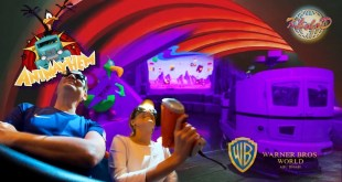 Ani Mayhem ACME/Looney Tunes/Warner Bros .World Abu Dhabi Theme Park