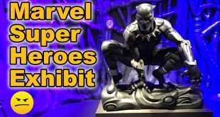 Checking Out the Marvel Super Heroes Exhibition at MoPOP