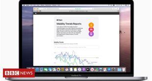 Coronavirus: Apple tracks changes in travel behaviour