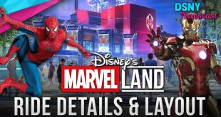 Disney's MARVEL LAND Ride Layout Details for Disneyland and Disneyland Paris - Disney News - 5/7/19
