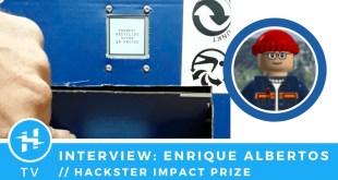 Enrique Albertos // Hackster Impact Prize