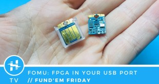 FOMU – FPGA That Fits in Your USB Port