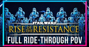 FULL RIDE THROUGH of Rise Of The Resistance at Walt Disney World - DSNY Newscast