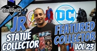 Featured Collector Series Vol 23 ~ JR Statue Collector! GIANT DC & Marvel Collection Room Tour!