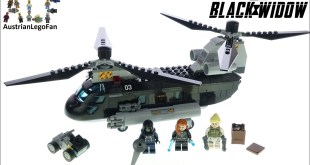 LEGO Marvel 76162 Black Widow's Helicopter Chase - Lego Speed Build Review