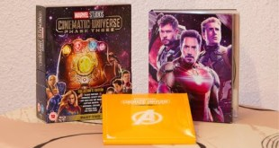 Marvel Cinematic Universe Phase 3 (part 2) Blu Ray Unboxing