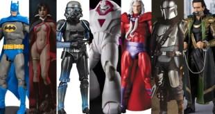 Marvel Legends SHF Avengers Mandalorian Spawn MAFEX Vampirella