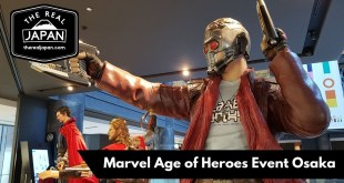 "Marvel: ""Age of Heroes"" Exhibition cosplay, Osaka 